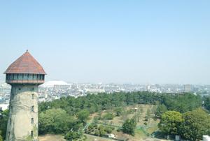 写真:屋上からの眺め