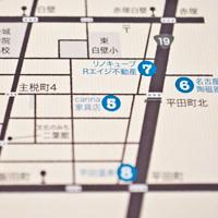 写真:いくいくみしるの地図
